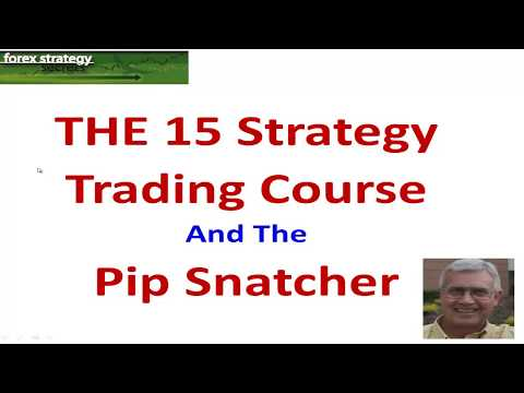 Forex Strategies and Secrets: THE 15 Course and The Pip Snatcher Strategy