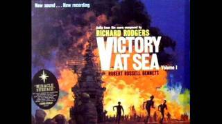 Victory At Sea by Robert Russell Bennett on 1959 RCA Living Stereo LP.
