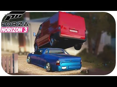 FORZA HORIZON 3 BEST OF FAILS & FUNNY MOMENTS #22 (FH3 Funny Moments Compilation)