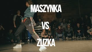 MASZYNKA VS ZUZKA - BGIRL BATTLE QUATER FINAL - ART OF BREAKING 2016