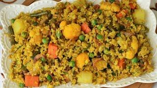 খিচুড়ি রেসিপি/সবজি খিচুড়ি রেসিপি/ভুনা খিচুড়ি/Khichuri Recipe/Vegetable Khichuri/Bhuna Khichuri.