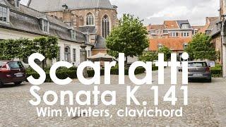 D. Scarlatti :: Sonata K141 :: Wim Winters, clavichord