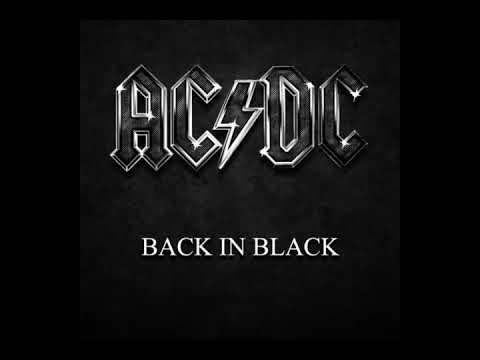 AC DC - Back In Black - Album Completo - Full Album - HQ Audio