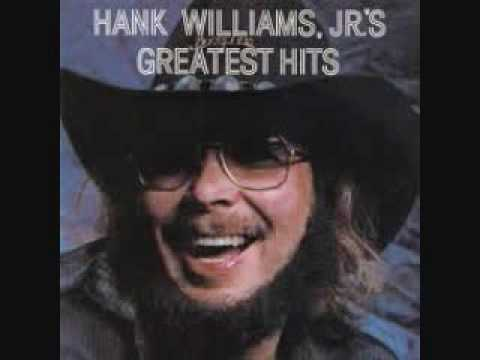 All My Rowdy Friends Have Settled down Hank Williams Jr