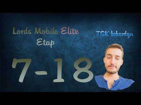 Lords Mobile Elite Etap 7-18