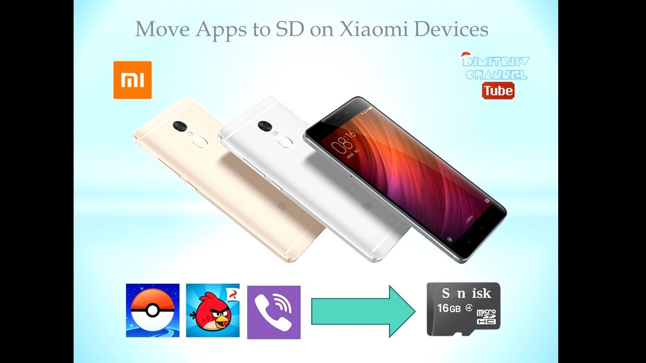 xiaomi download to sd card