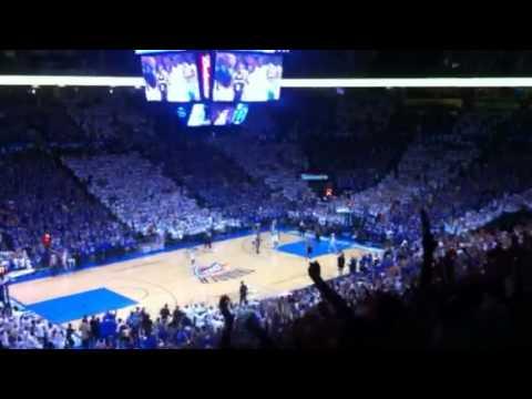 Thunder - Spurs June 2, 2012 - Chesapeake Arena is LOUD!!! Go OKC Thunder!