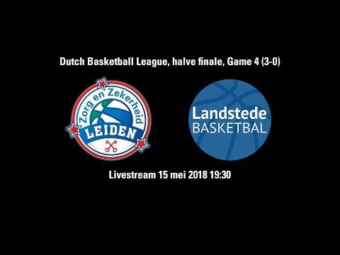 Zorg en Zekerheid Leiden - Landstede Zwolle, game 4 (3-0) (15 mei 2018)