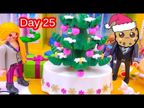 Polly Pocket, Playmobil Holiday Christmas Advent Calendar Day 25 Toy Surprise Opening Video