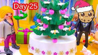 polly pocket playmobil holiday christmas advent calendar day 25 toy surprise opening video