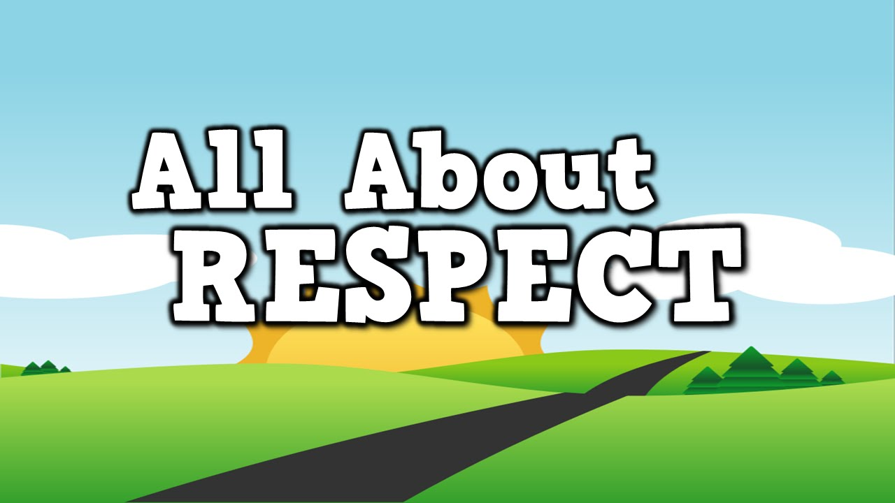ALL ABOUT RESPECT! (song for kids about showing respect ...