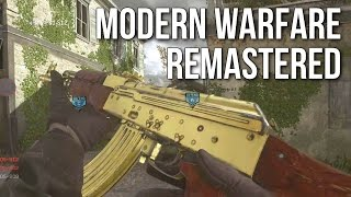 Modern Warfare Remastered Multiplayer Gameplay (MP5, Sniping, & Desert Eagle)