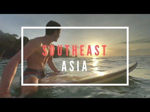 BACKPACKING SOUTHEAST ASIA 2018 - GOPRO HERO6