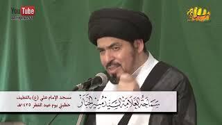 السيد منير الخباز - الإمام الحسين ع يصحبنا في كل مناسبة: إستحباب زيارته في كل مناسبة كالعيد