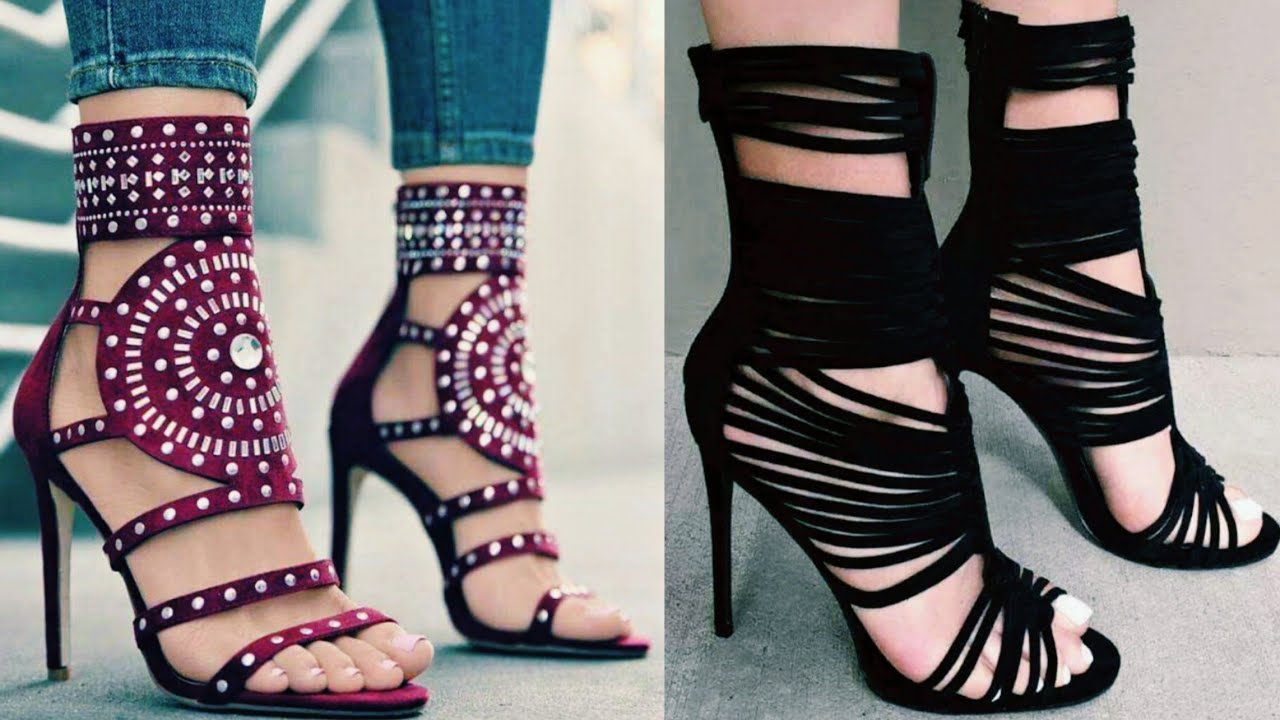 Latest High heels footwears for girls