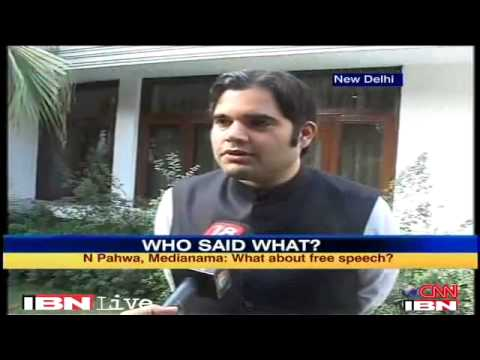 Varun Gandhi criticises Sibal