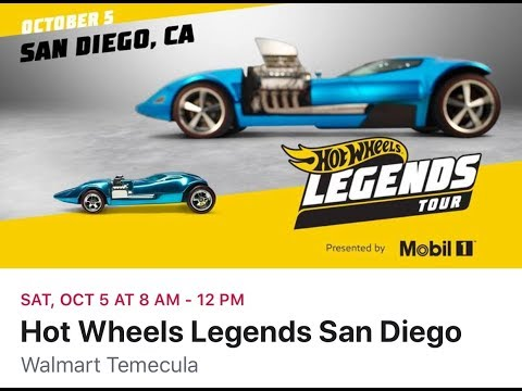 Hot Wheels Legends San Diego
