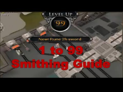 New runescape 3 1-99 smithing guide 2014 (eoc) | hubpages.