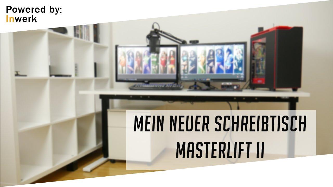 inwerk masterlift 2 mein neuer elektrischer gaming. Black Bedroom Furniture Sets. Home Design Ideas