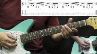 RATM - Killing In The Name - Alternative Rock Guitar Lesson Part1 (w/Solo&Tabs)