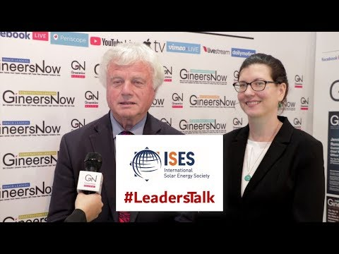 #LeadersTalk with International Solar Energy Society, David Renne and Joanna Costello