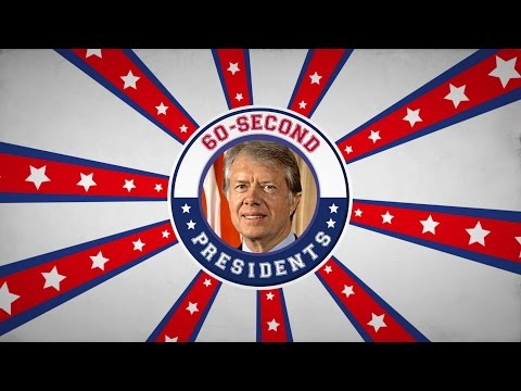 Jimmy Carter | 60-Second Presidents | PBS