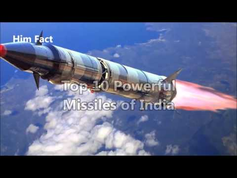 Top 10 Powerful Missiles Developed by India and Joint venture | Missile of Indian Armed Fo