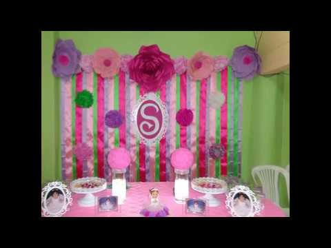 Decocandy decoracion de bautizo para ni a youtube - Decoracion para bautizo de nina en casa ...