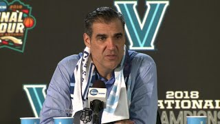 Villanova Basketball Coach Jay Wright, Players Hold Postgame Presser
