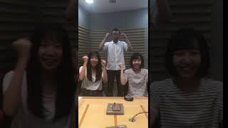 16日の海の日につりビットの小西杏優(あゆ)ちゃんと竹内夏紀ちゃん...