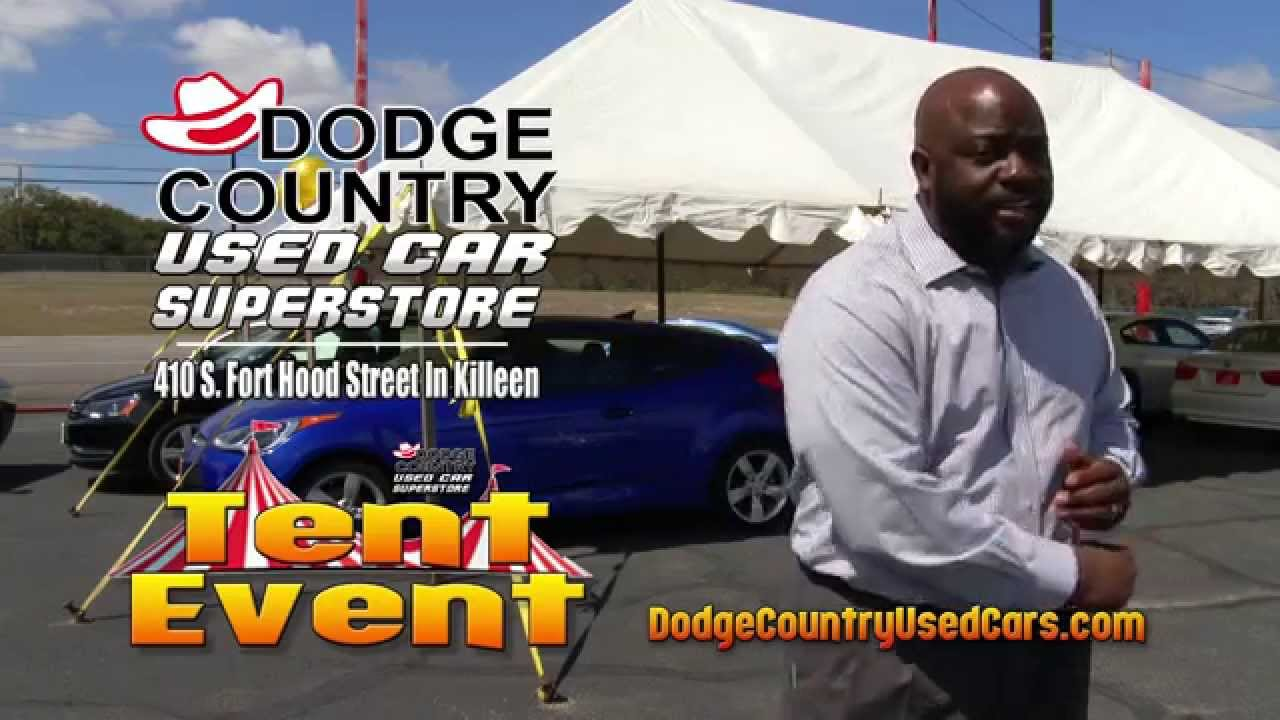 Dodge Country In Killeen >> Spring Tent Event | Dodge Country Used Cars in Killeen, Texas - YouTube