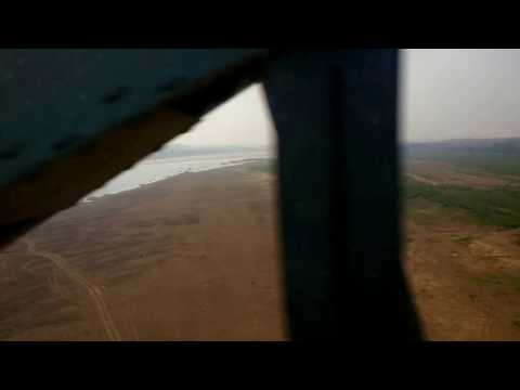 Crossing the Chambal near Dhaulpur!