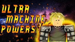 Roblox Script Showcase Episode#868/Genos Machine Powers