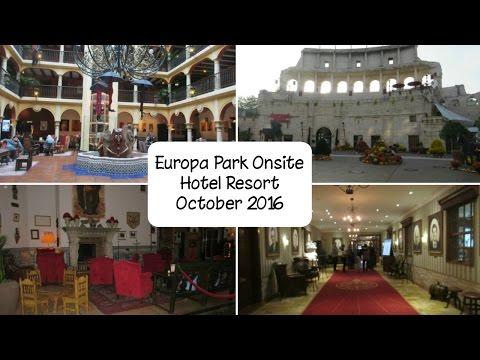 Europa Park Onsite Hotels - October 2016