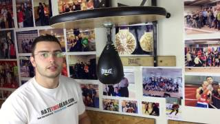 Everlast Speed Bag Platform Review by ratethisgear