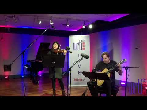 Live from the WRTI 90.1 Performance Studio: Jason Vieaux & Kristin Lee play Paganini's Cantabile