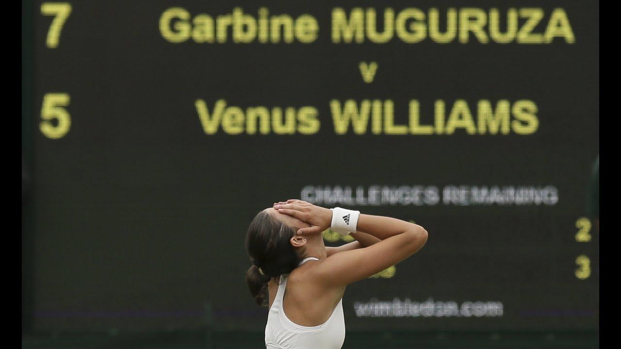 Muguruza beats Williams to take Wimbledon crown