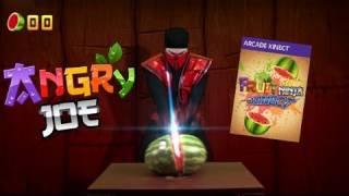 Fruit Ninja Kinect Review - Ermac Hates Fruit!