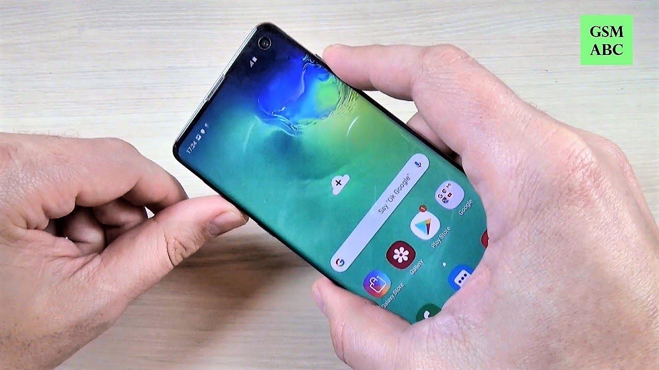 Screenshot Samsung S10