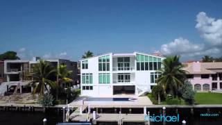 6939 sunrise drive aerial video tour coral gables fl