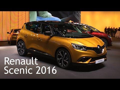Renault Scenic 2016. Знакомимся