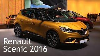 Renault Scenic 2016.  Знакомимся!!!