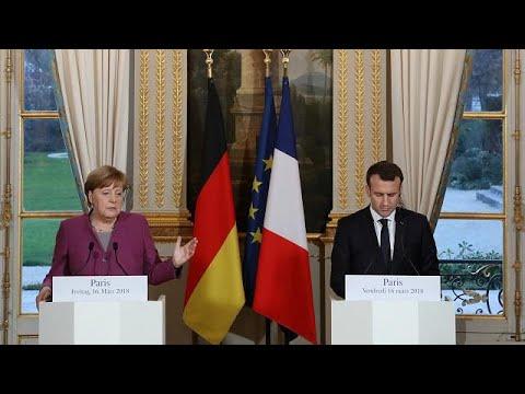 France et Allemagne au diapason sur l'affaire Skripal