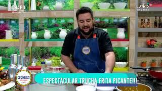 Trucha Frita Picante - Cocinero Luis Fernando Gutiérrez