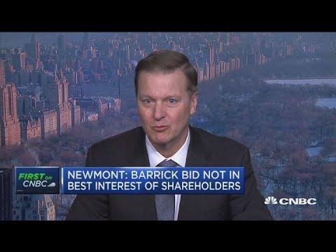 Newmont Mining CEO Gary Goldberg on Barrick's hostile bid