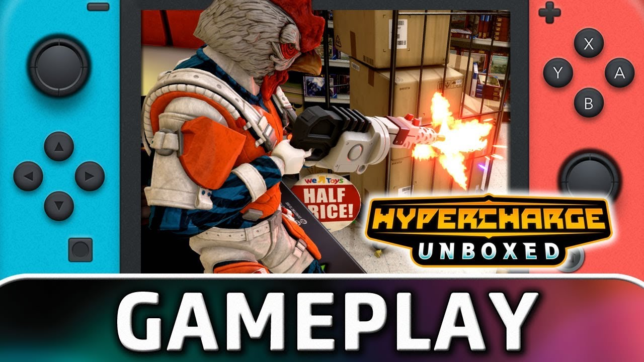 HYPERCHARGE Unboxed | First 20 Minutes on Nintendo Switch