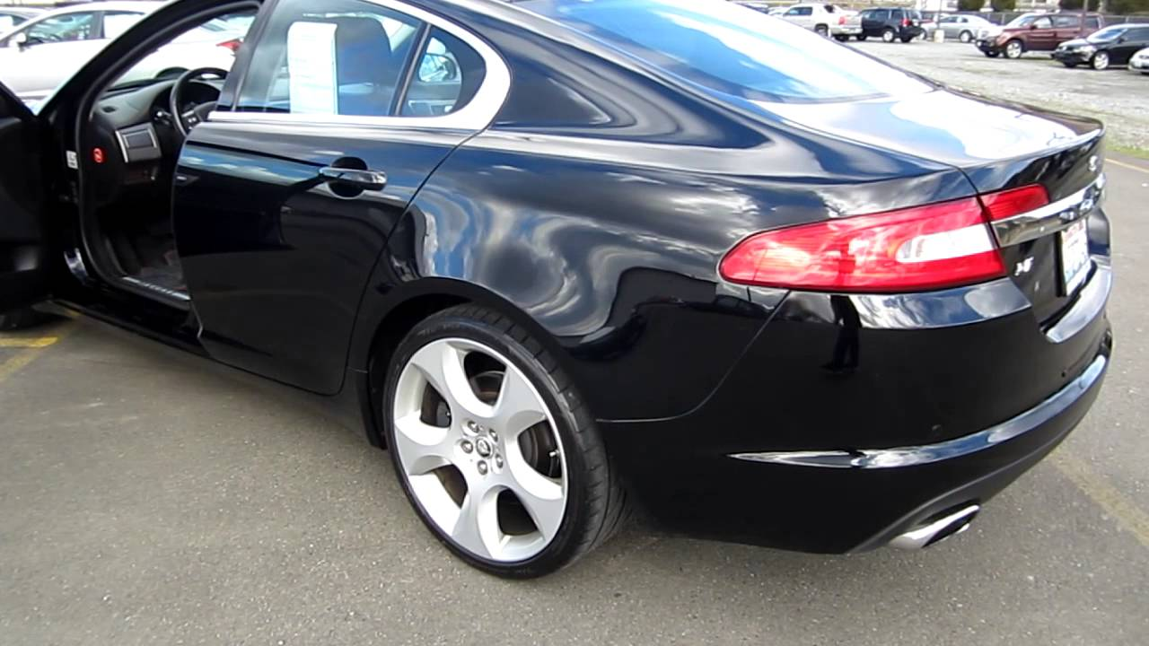 2009 jaguar xf sport luxury black stock h1996 walk around youtube. Black Bedroom Furniture Sets. Home Design Ideas