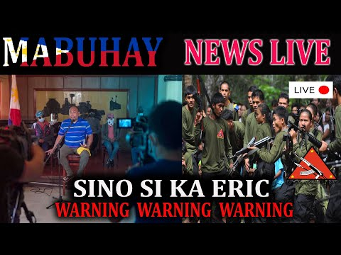 ⚠ BREAKING NEWS Sino si KA ERIC?  Mga rebelasyon 🚩 RED Taggi