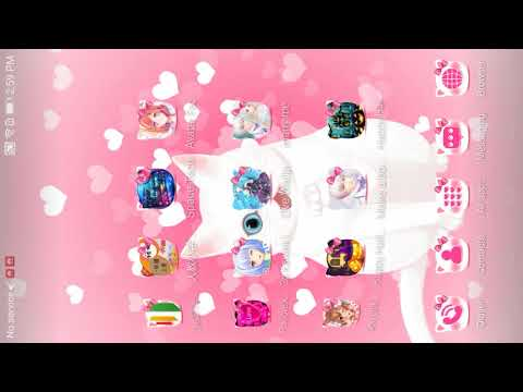 Pink Kitty 3d Live Wallpaper Theme Aplikasi Di Google Play
