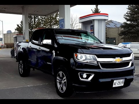 2018 Chevrolet Colorado Fuel Economy Mpg Review Fill Up Costs